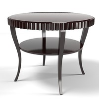 baker barbara barry fluted table 3465 modern